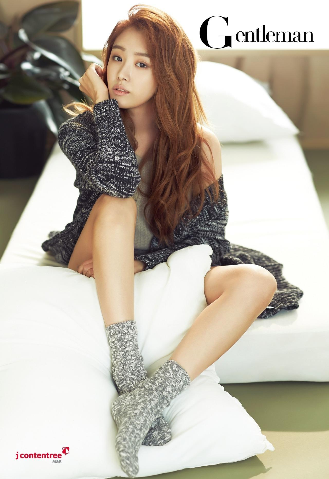 Song Jieun for Gentlemen