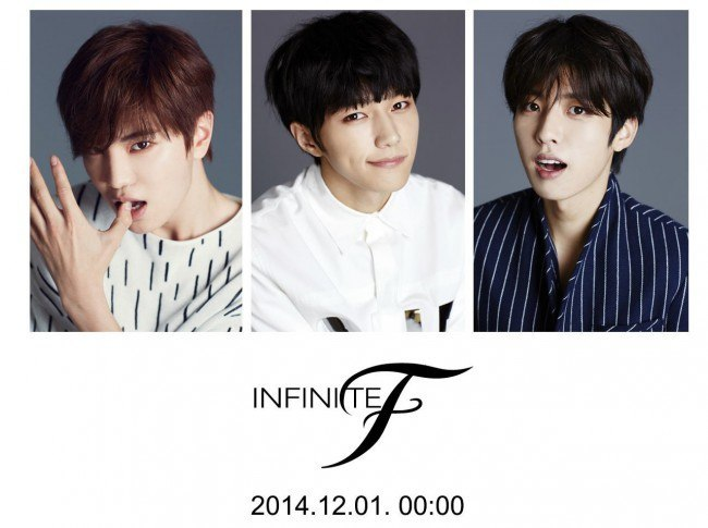 INFINITE F Debut countdown