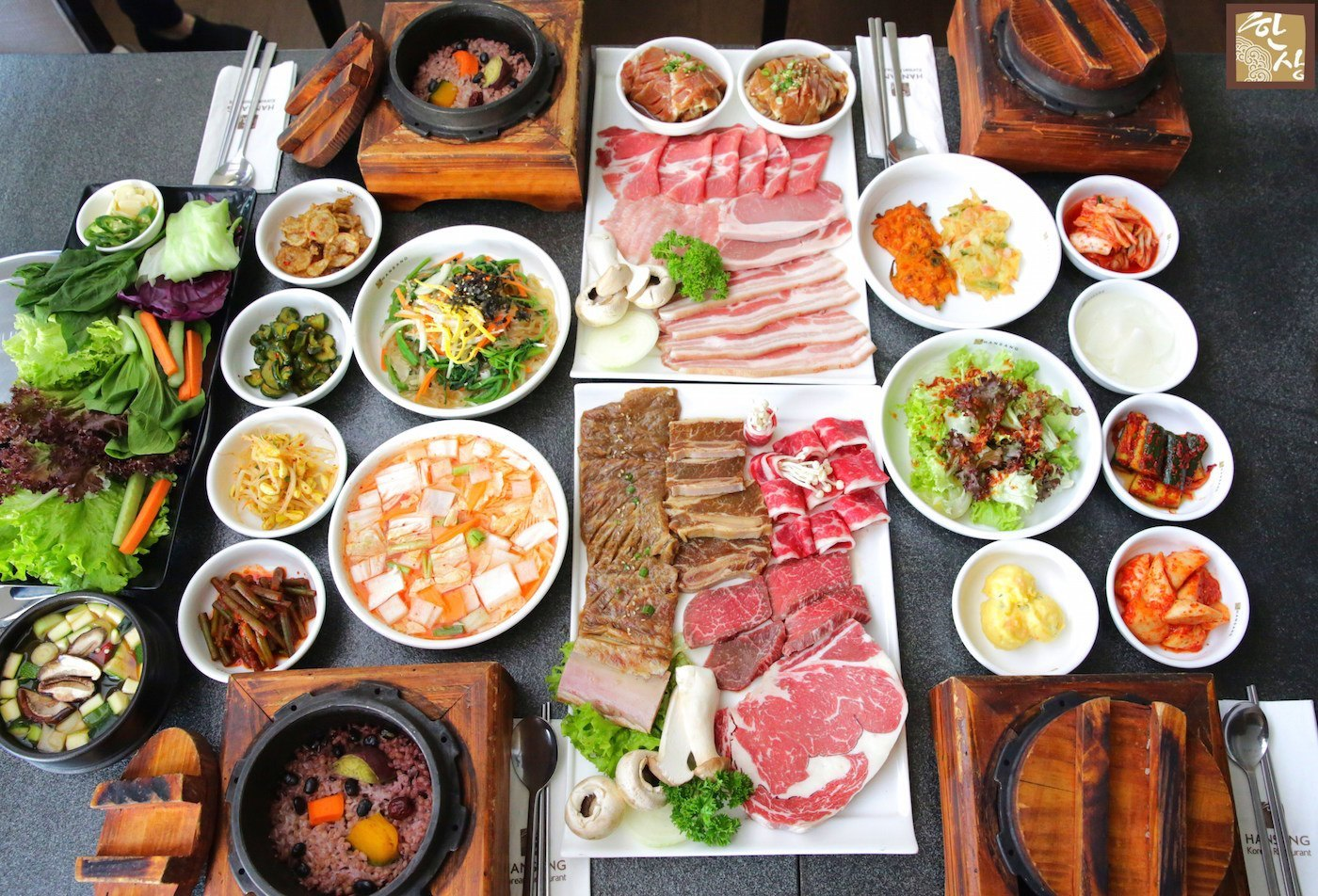 7 must try homemade korean recipes by maangchi - How to build a korean bbq table ...