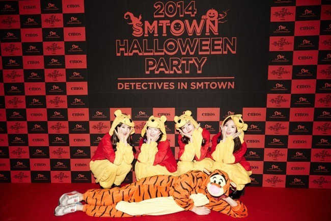 Red Velvet at SM Halloween Party 2014