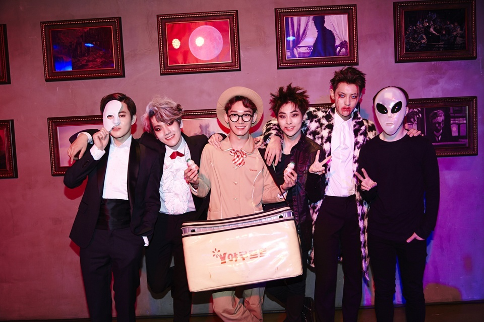 Untuk Kamu Darikorea Halloween Di Korea Hongdae Lotte World Boys24