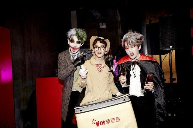 EXO at SM Halloween Party 2014