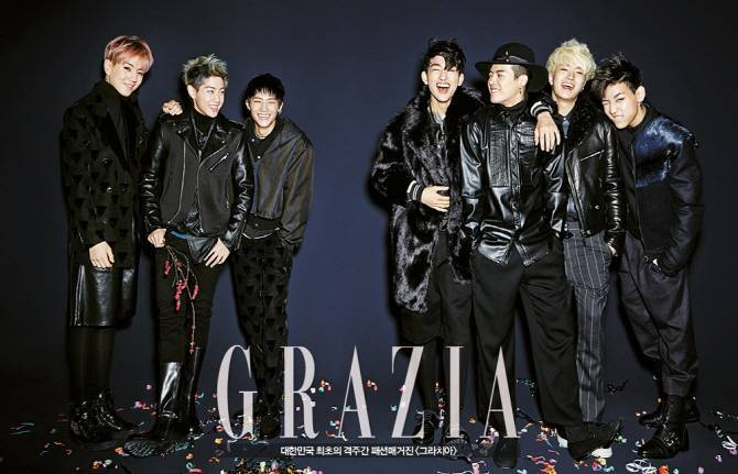 GOT7 for Grazia