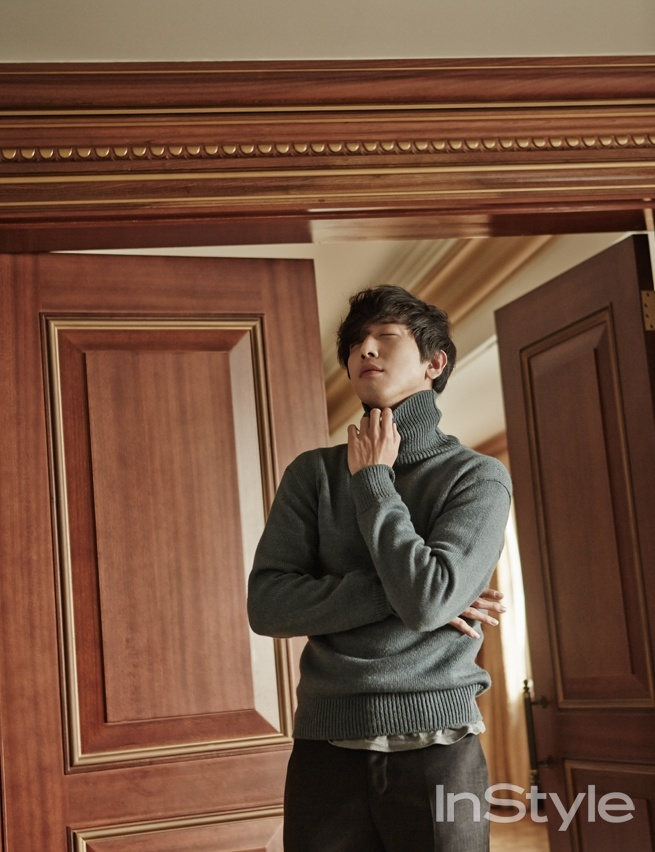 Yonghwa for InStyleYonghwa for InStyle