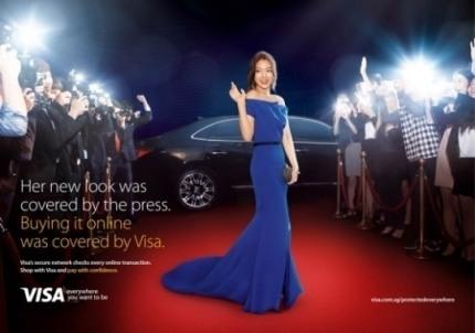 Park Shinhye's VISA Adverstisement