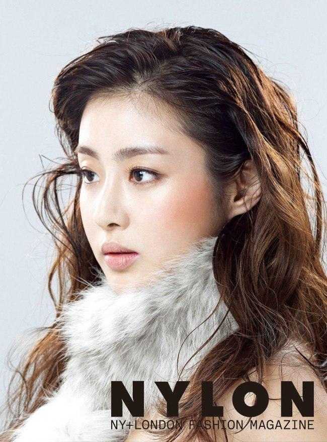 Kang Sora for Nylon Dec 2014