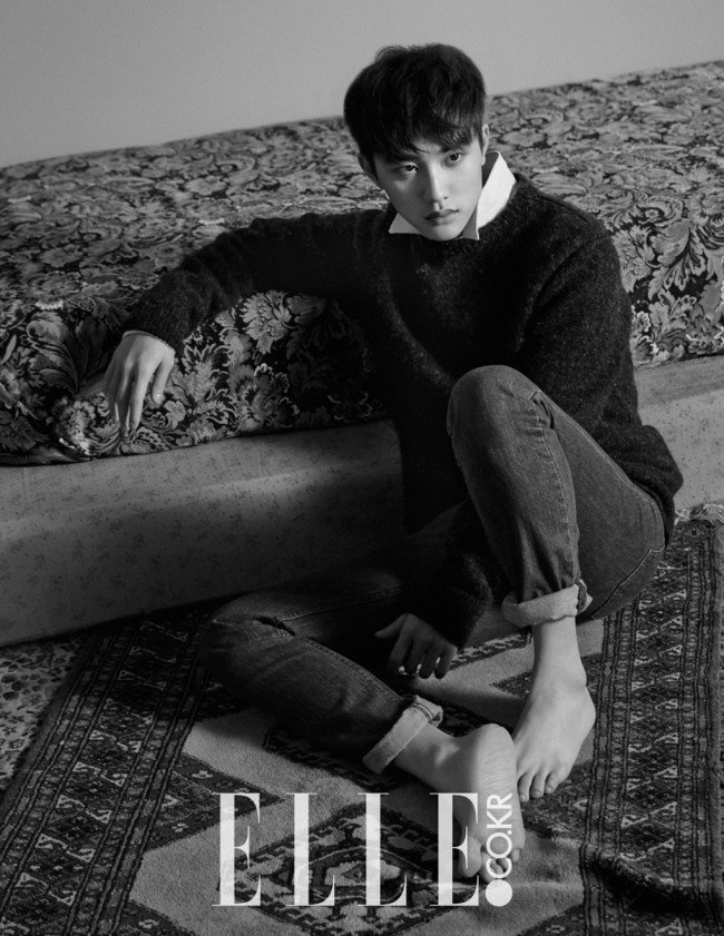 D.O for Elle Dec 2014