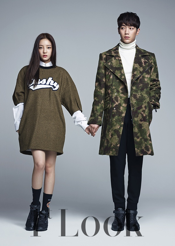 Seo Kang Jun & Hara 1st Look Dec 2014