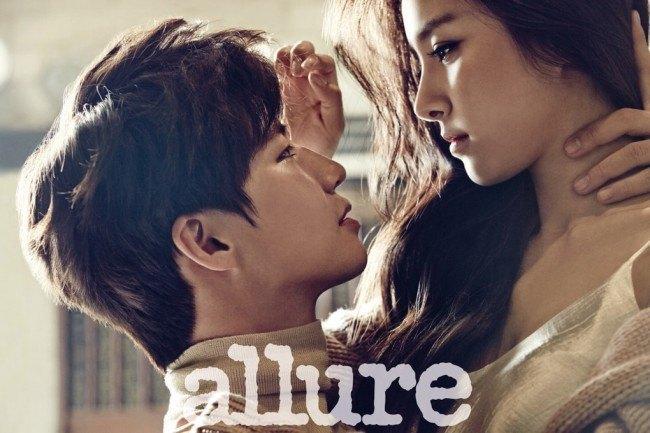 Song Jae Rim & Kim So Eun allure Dec 2014