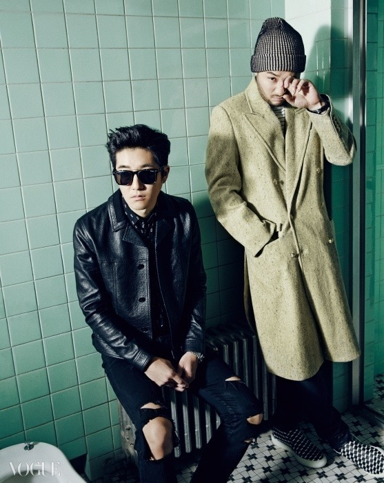 Epik High for Vogue Dec 2014