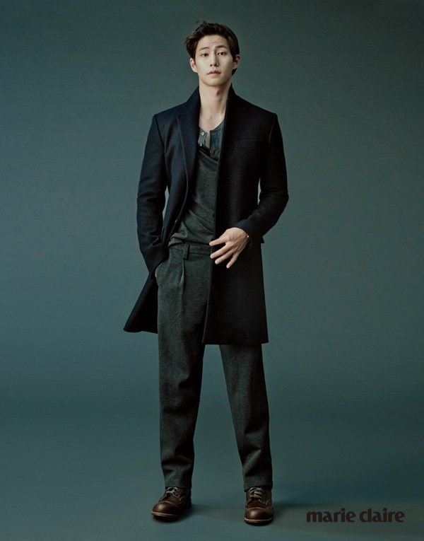 Song Jae Rim for Marie Claire Dec 2014