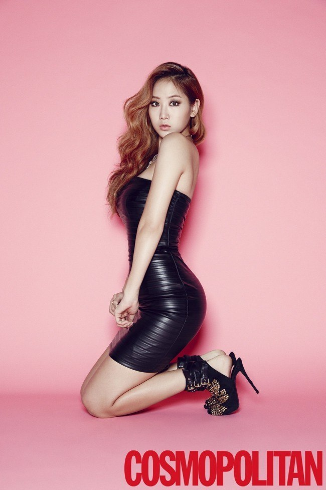 Soyou for Cosmopolitan Dec 2014