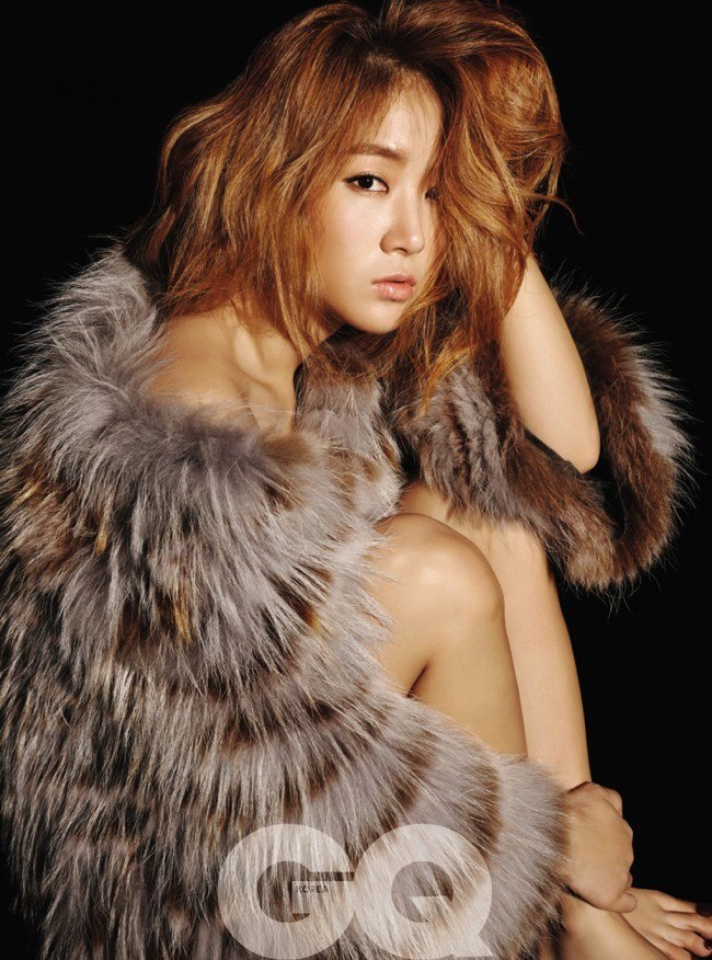 Soyou GQ Woman of the Year Dec 2014