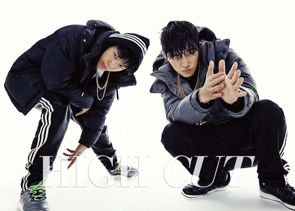 Bobby & B.I for High Cut Dec 2014
