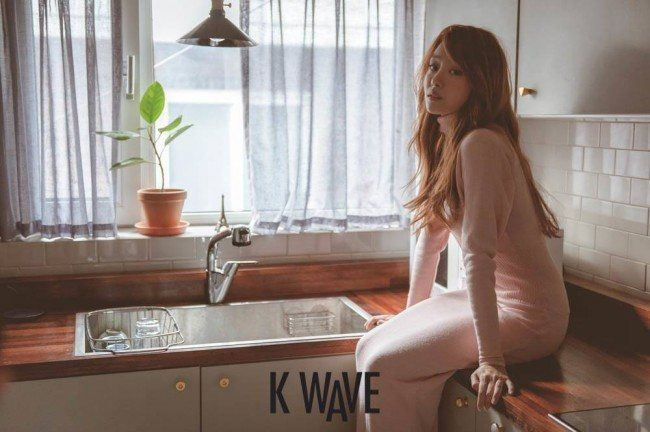 Song Jieun for KWAVE Dec 2014
