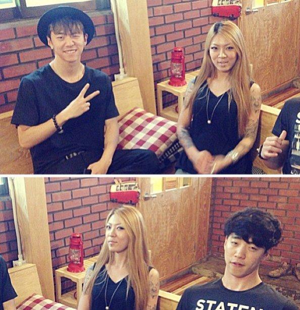 Bang Yongguk and Yongnam