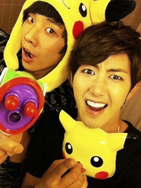 MBLAQ's Lee Joon and ZE:A's Kwanghee