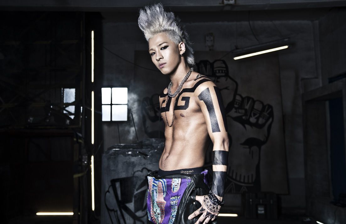 "Taeyang from ""Ringa Linga"""