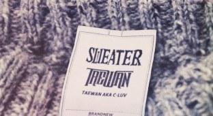 """Taewan """"Sweater"""" single"""