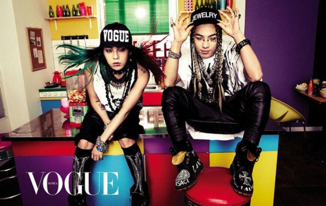 G-Dragon and Taeyang for VOGUE fashion magazine - February 2013 issue