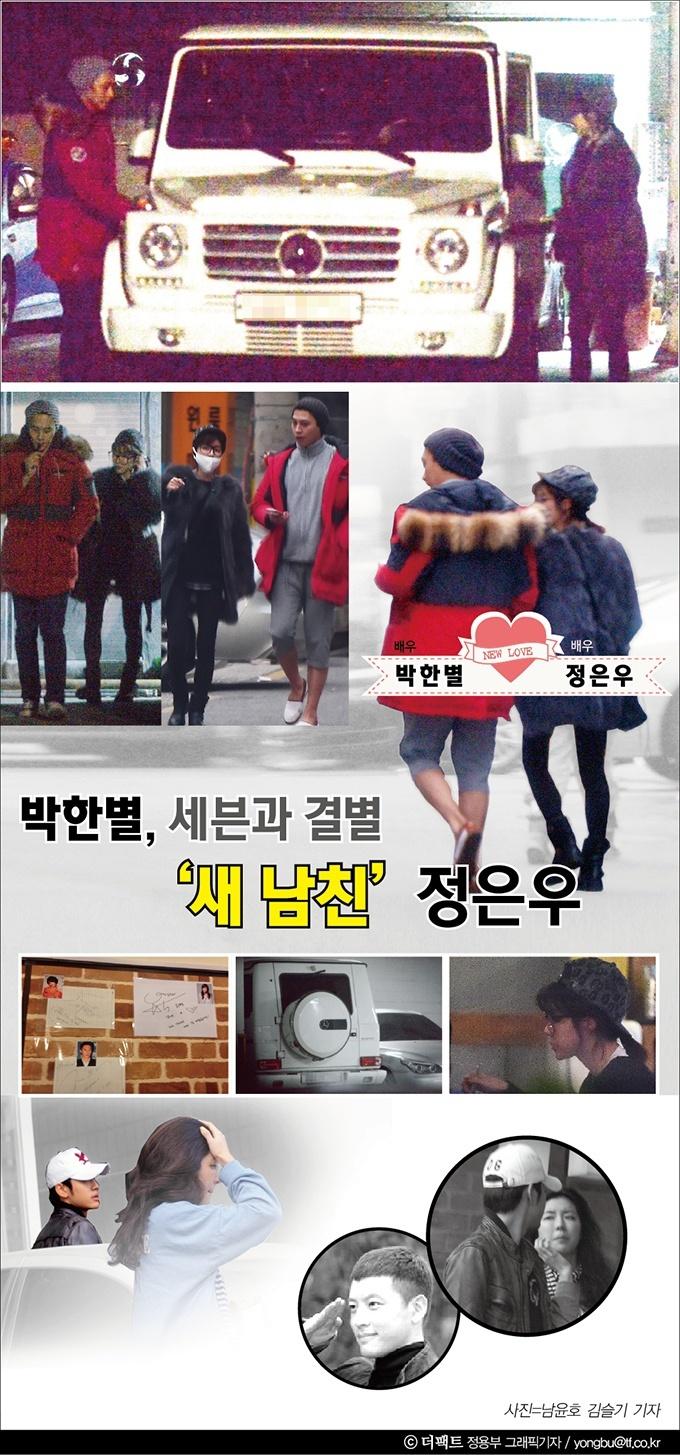 Se7en, Park Han Byul, Jung Eun Woo