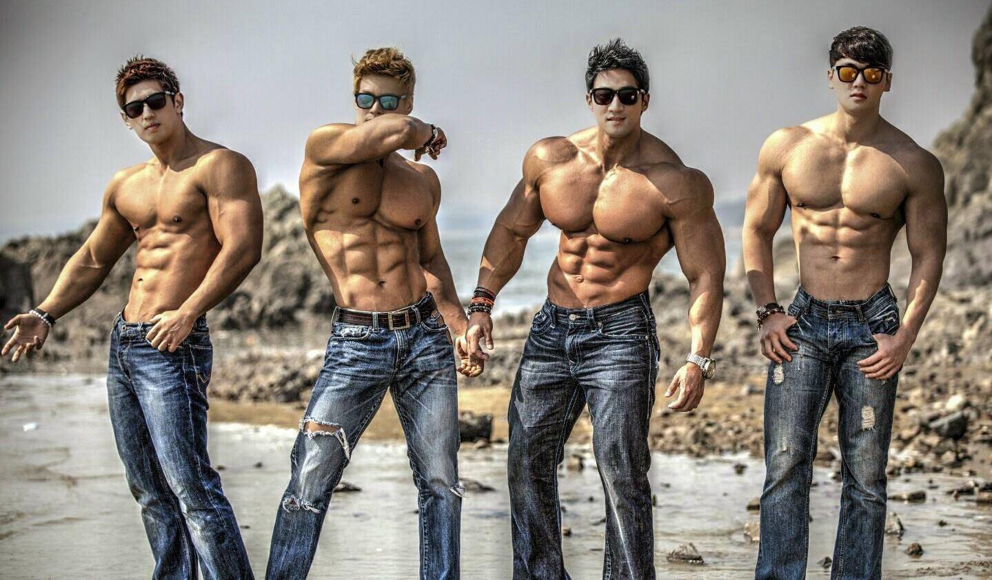 13 Mega-Swole Korean Hulk Juggernaut Bodybuilders
