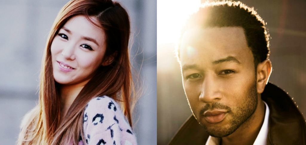 Tiffany and John Legend