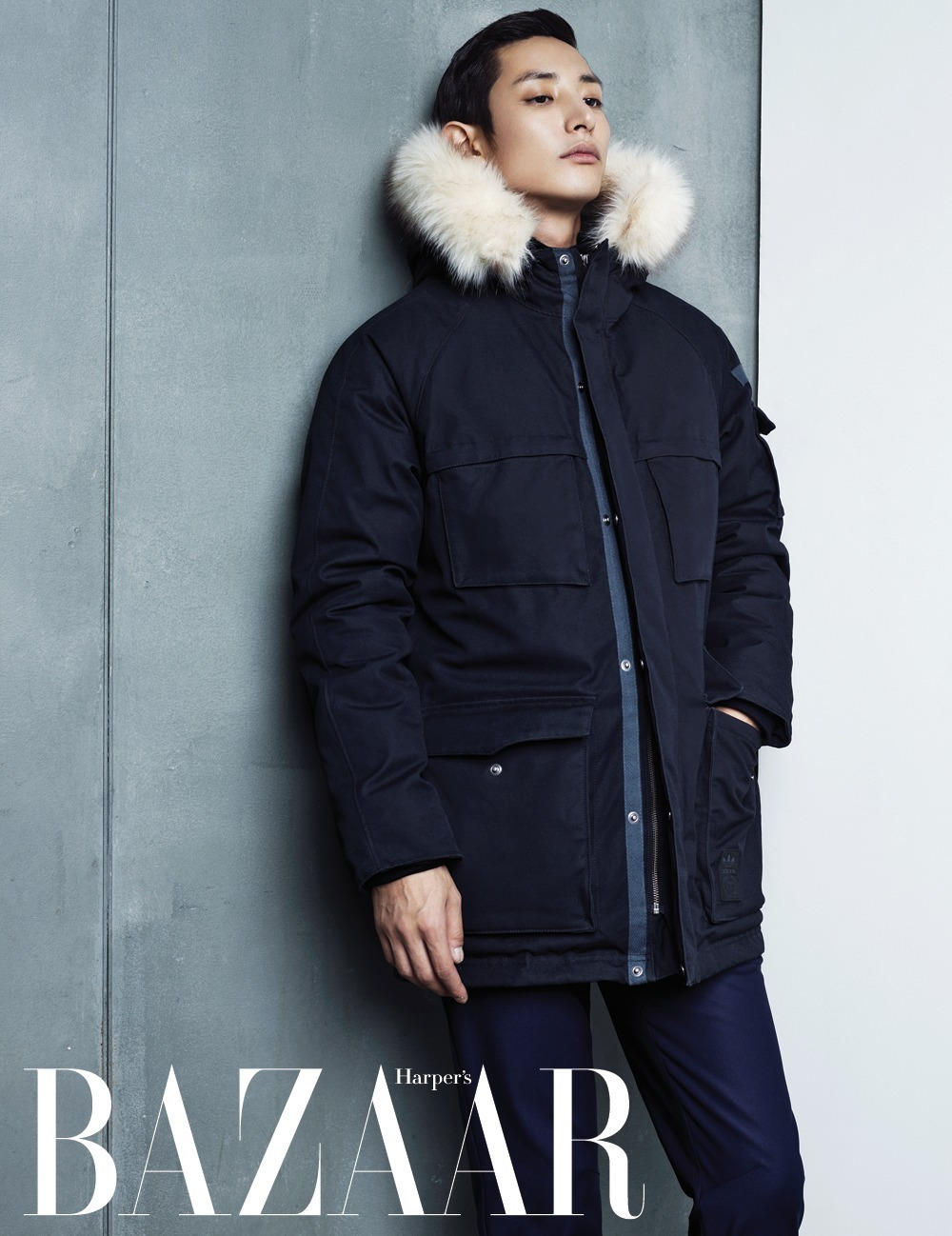 Lee Soo Hyuk for Harpers Bazzar