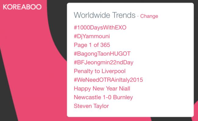 #1000dayswithEXO