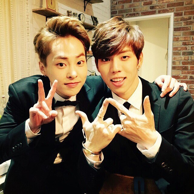 Image result for Dongwoo and xiumin