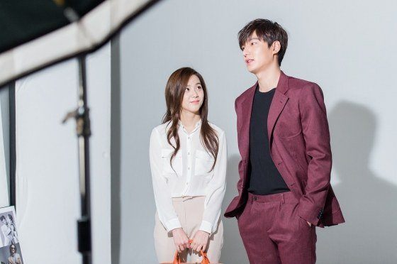 Lee Minho and Kim Jisoo for Samsonite