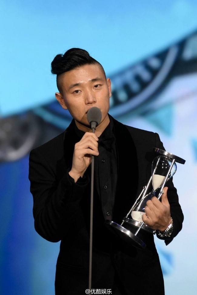 Kang Gary at 2014 Youku Night