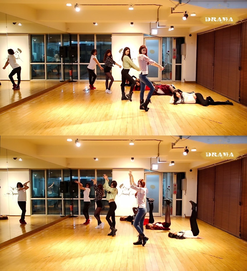 9MUSES Drama choreography