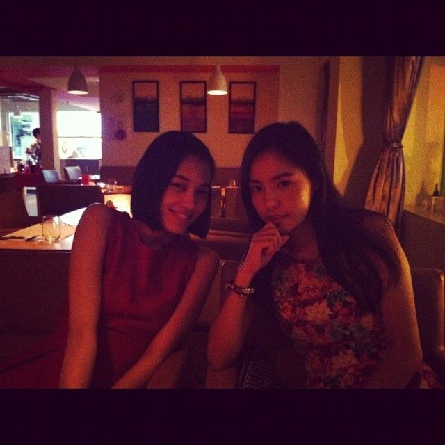 Kiko Mizuhara and good friend Min Hyorin