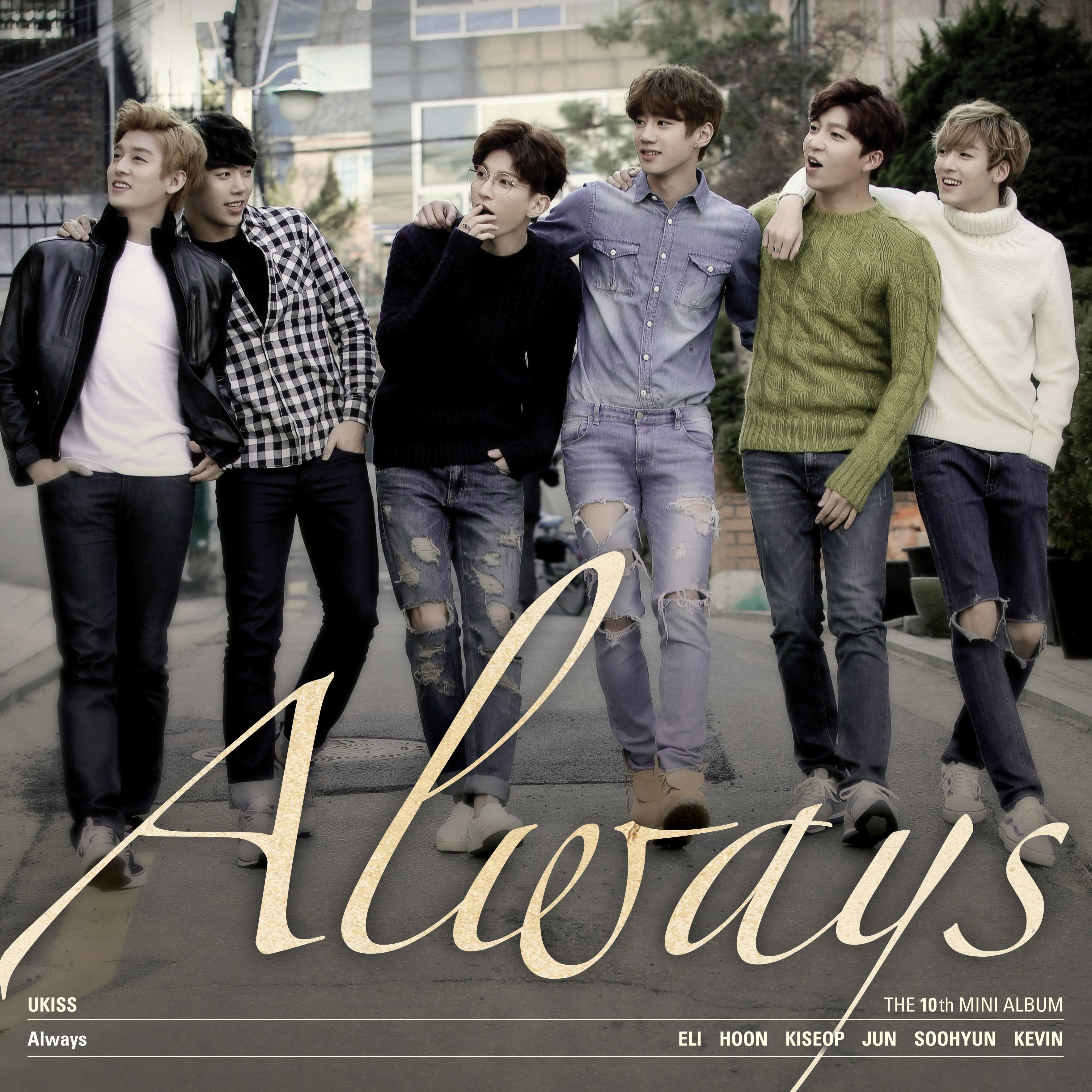 "Mv Kiss And Makeup: U-KISS Releases ""Playground"" MV And 10th Mini-album ""Always"""