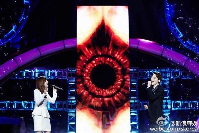 Zhang Li Yin, EXO Chen