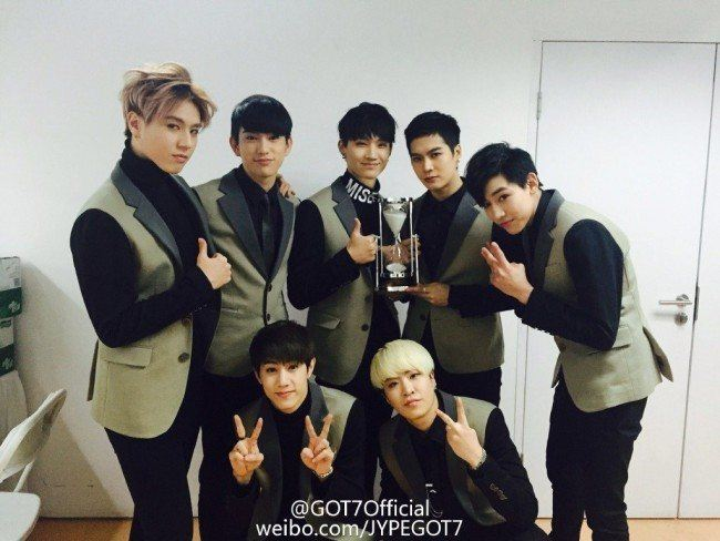 GOT7 at 2014 Youku Night