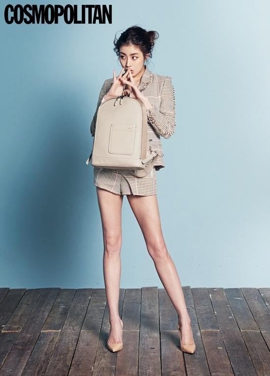 Photo: COSMOPOLITAN; Kang So Ra