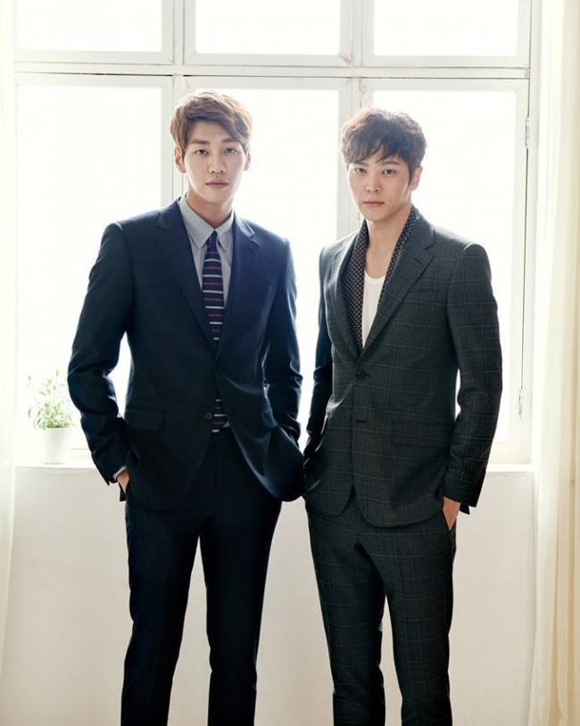 Kim Young Kwang and Joo Won