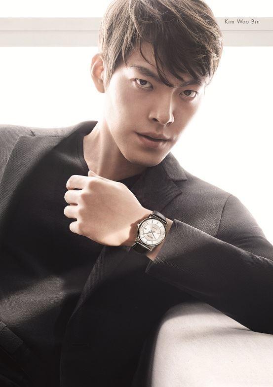 Kim Woobin for Calvin Klein