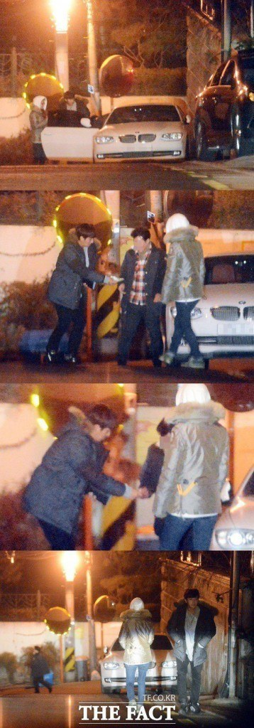 "Son Ho Joon and Kim So Eun spotted on an alleged date by ""The Fact"""