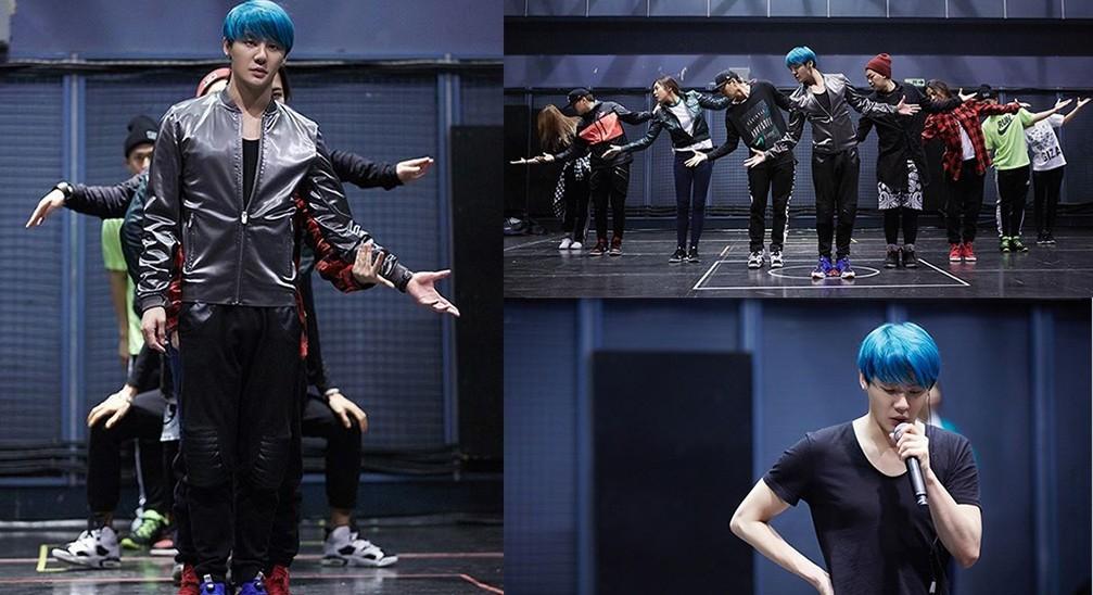 JYJ Kim Junsu Asia Tour 2015 Rehearsal