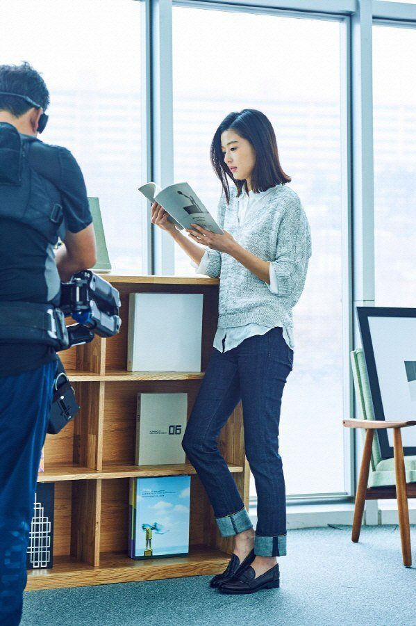 Jun Ji Hyun for UNIQLO