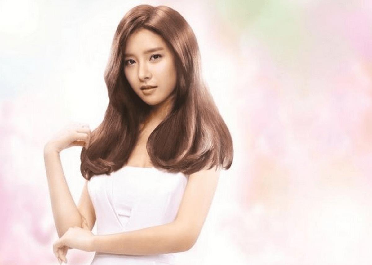 Kim so eun becomes the new face of hair brand wella