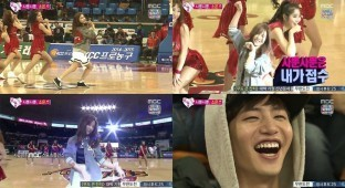 Song Jae Rim dancing AOA Like A Cat