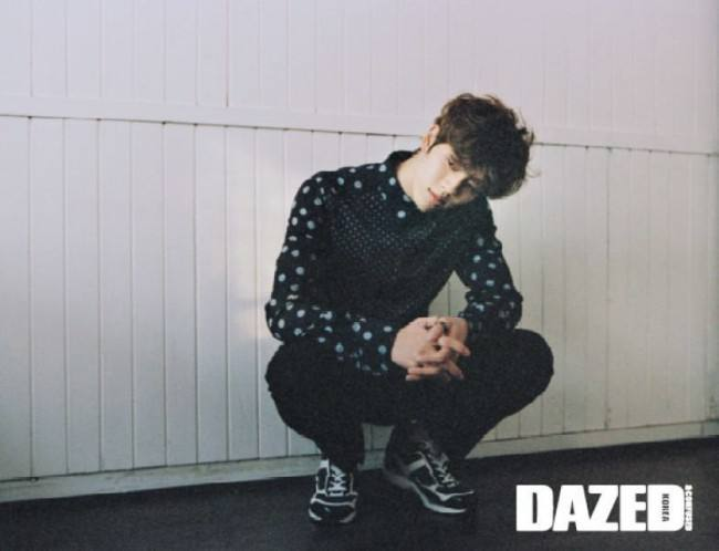INFINITE H for Dazed&Confused March 2015