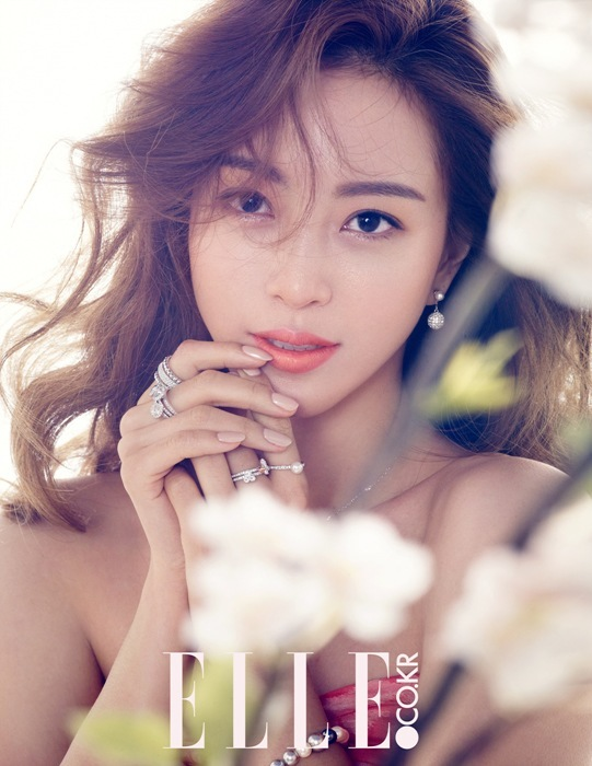 Han Ye Seul Elle March 2015