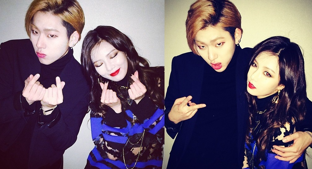 Block B Zico, 4MINUTE Hyuna