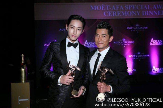Lee Soo Hyuk, Aaron Kwok