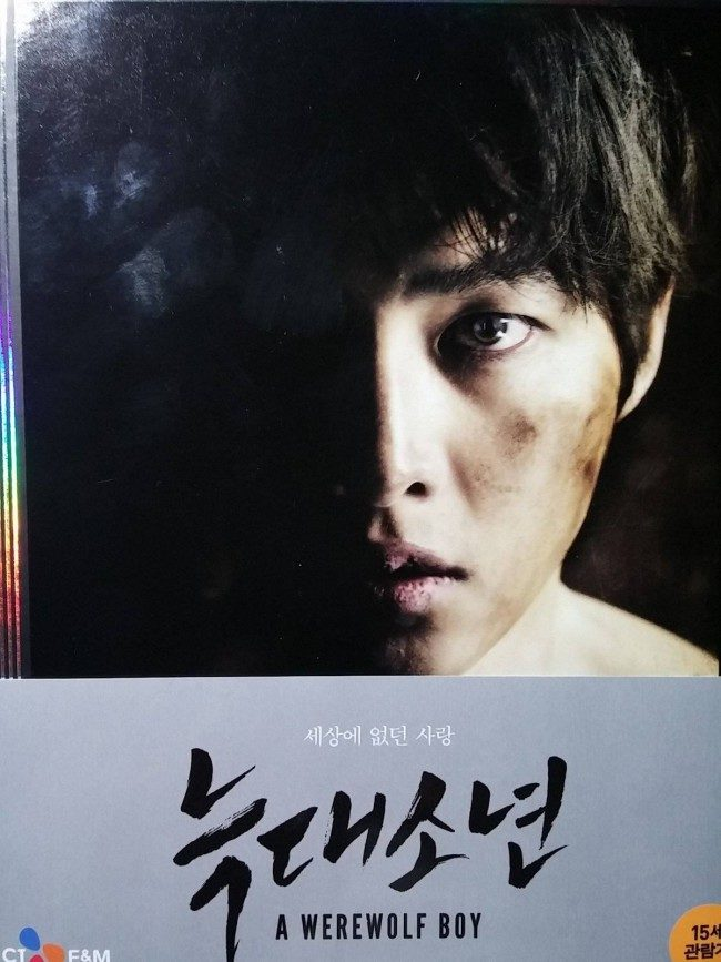 Photo of A Werewolf Boy DVD taken by Park Ki Woo, the boyfriend.